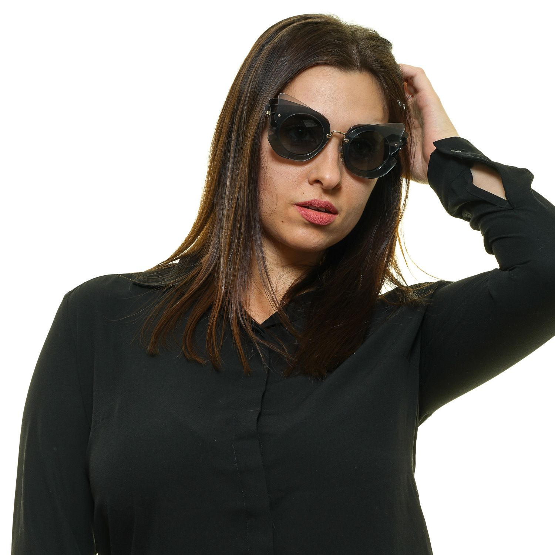 Miu Miu Gold Frauen Sonnenbrille