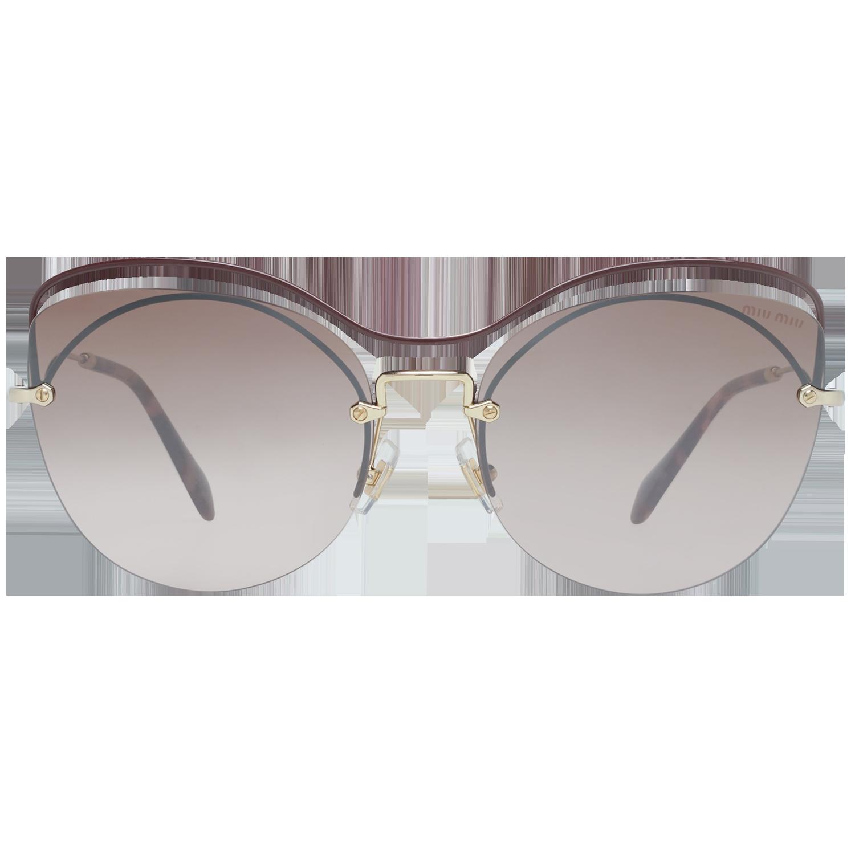 Miu Miu Sunglasses MU50TS R1JQZ9 60 Women Burgundy