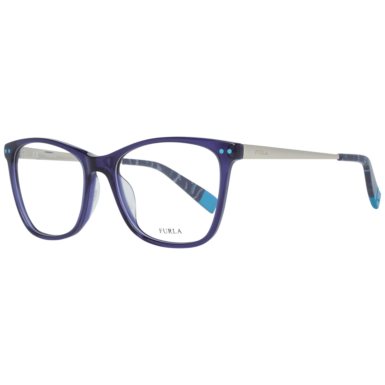 Furla Optical Frame VFU084 0T31 52 Women Blue