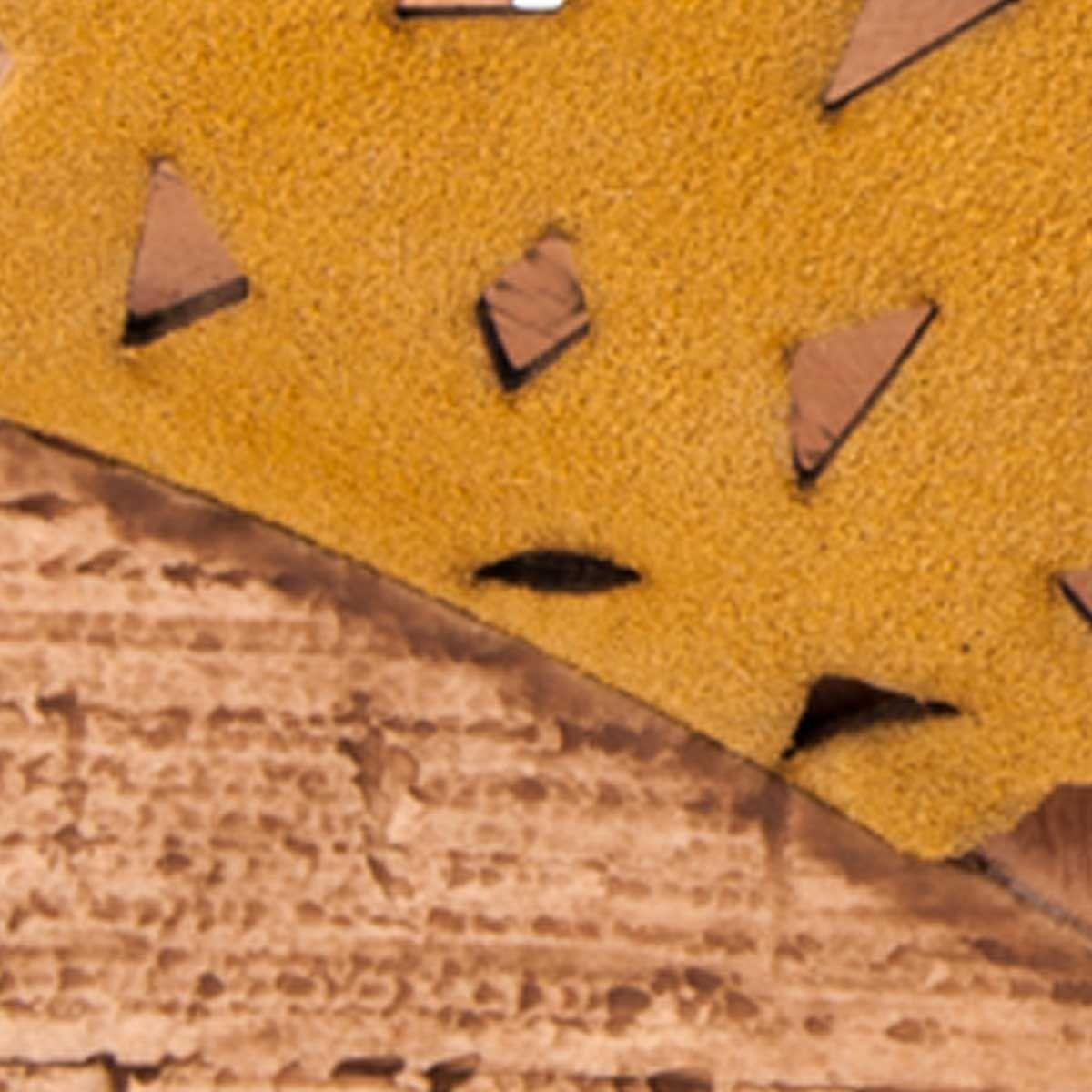 Purapiel Heel Sandal in Mustard