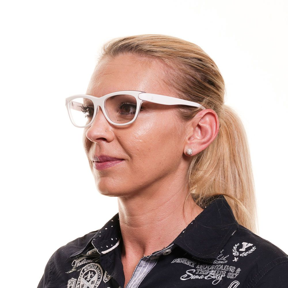 Balenciaga White Women Optical Frames
