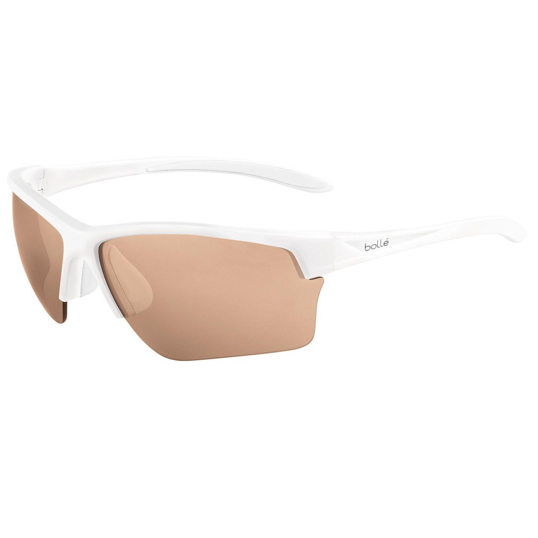 Bolle White Unisex Sunglasses