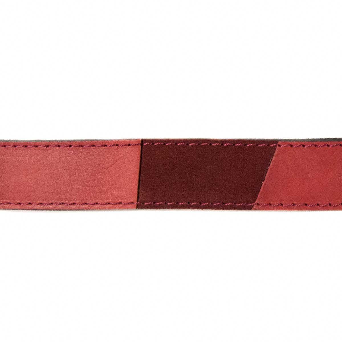 Montevita Casual Quality Belt in Bordo