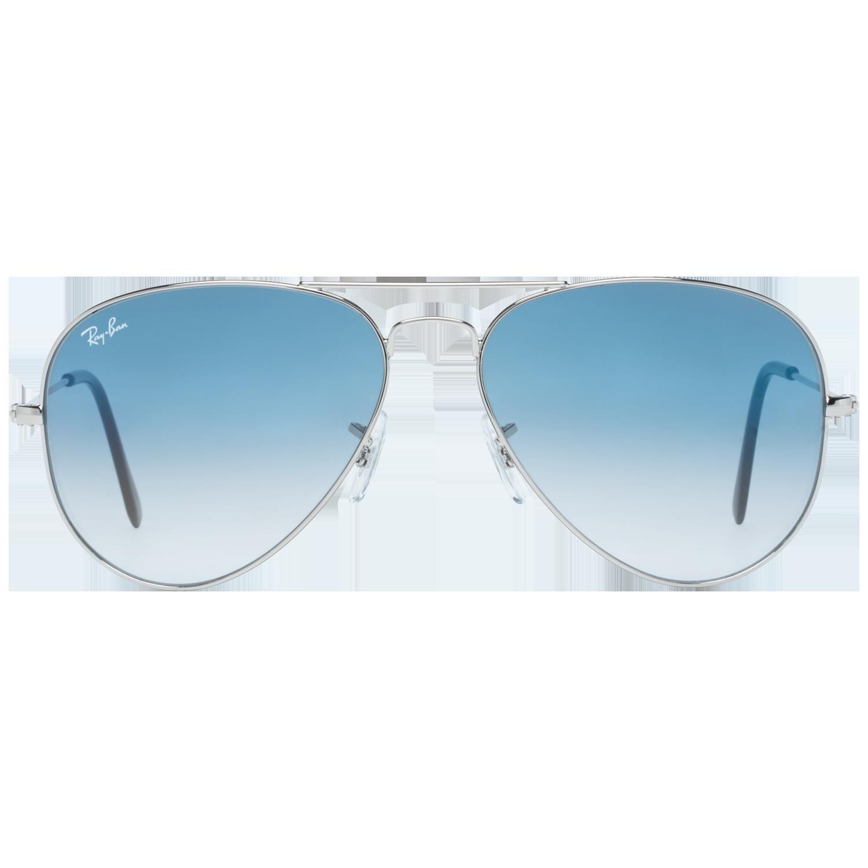 Ray-Ban Sunglasses RB3025 003/3F 58 Aviator Unisex Silver