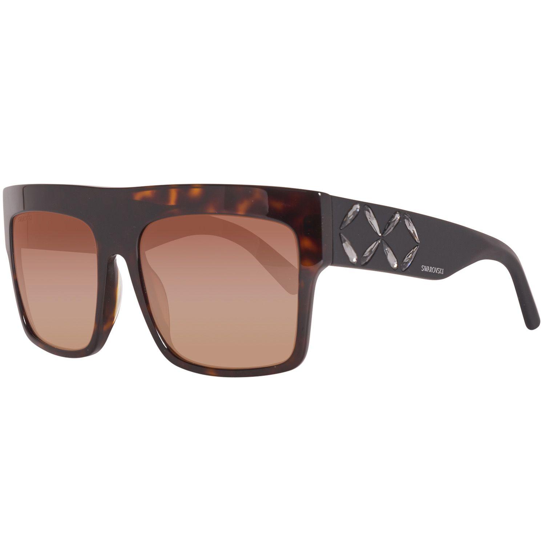 Swarovski Sunglasses SK0128 52F 56 Women Brown