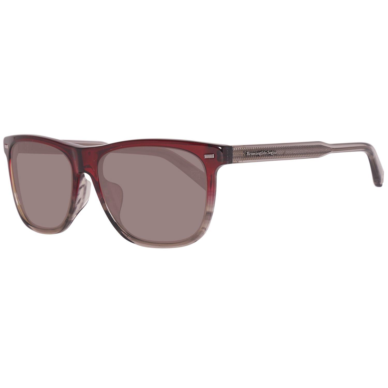 Ermenegildo Zegna Rote Männer Sonnenbrille