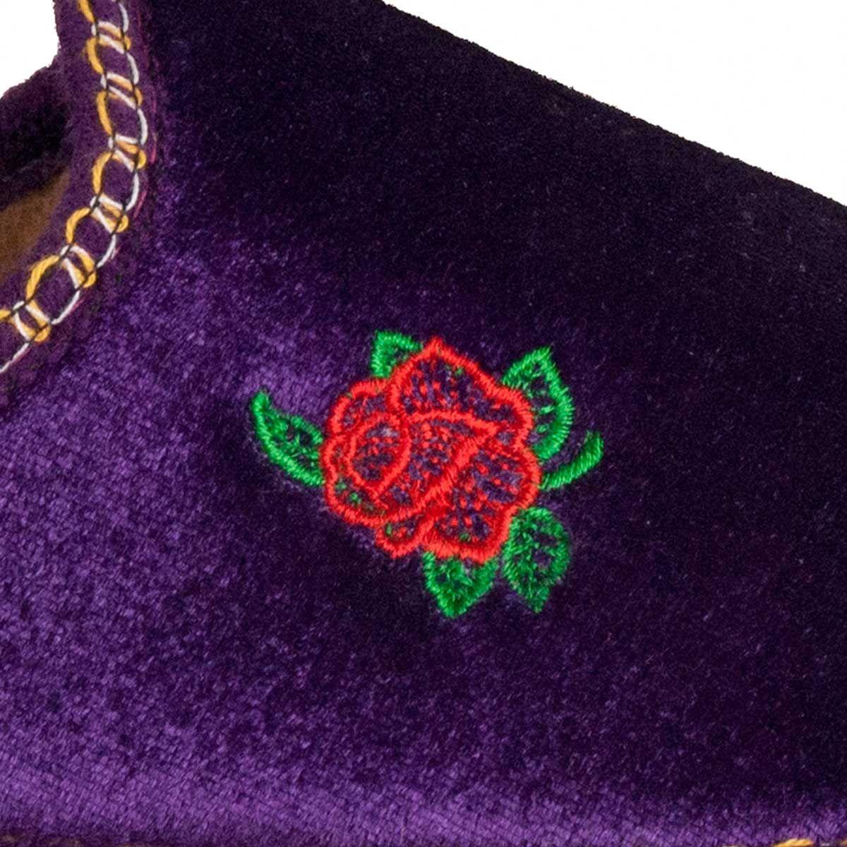 Northome Comfortable Slipper in Purple