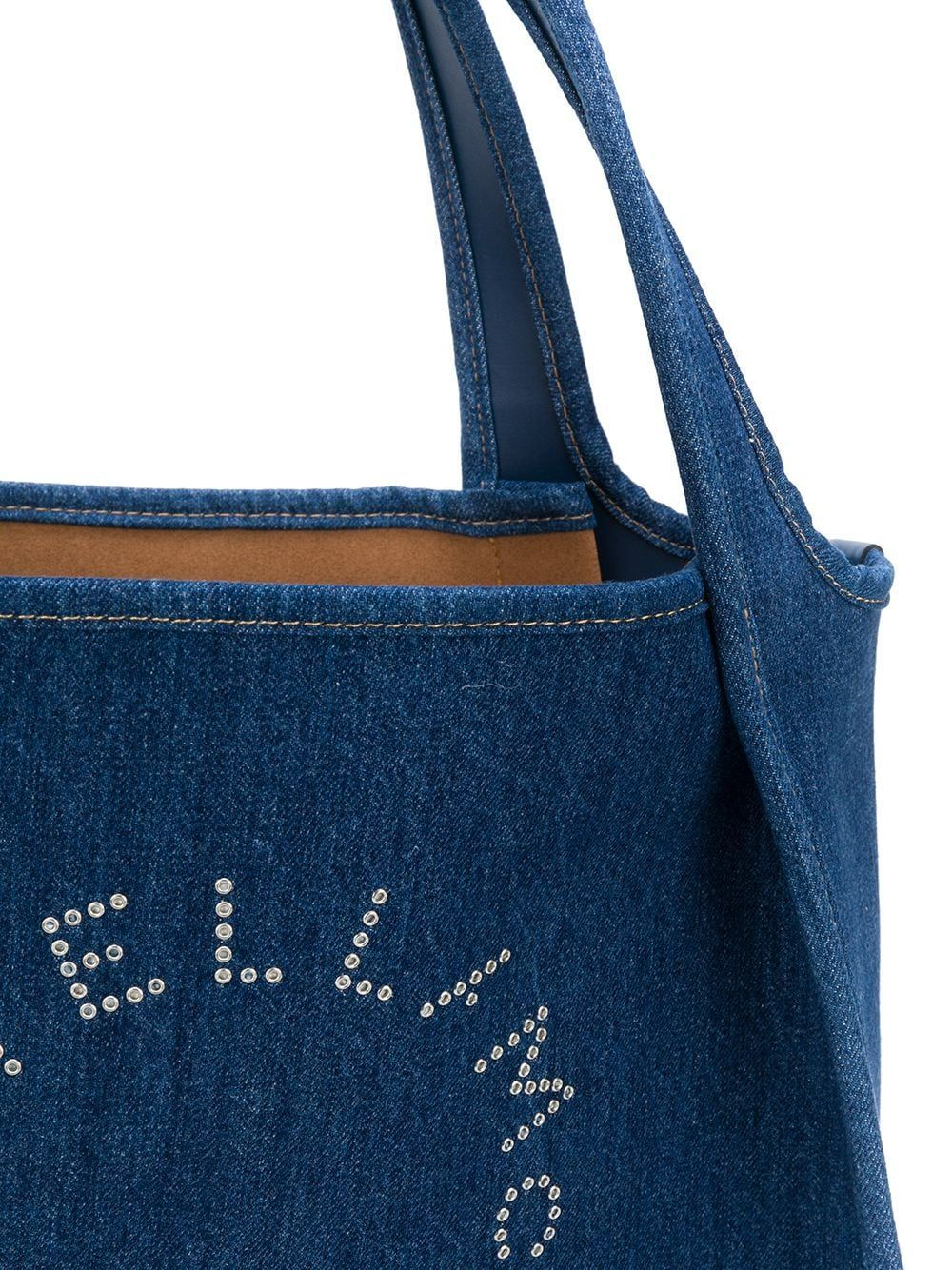 STELLA MCCARTNEY WOMEN'S 502793W86424324 BLUE FABRIC TOTE