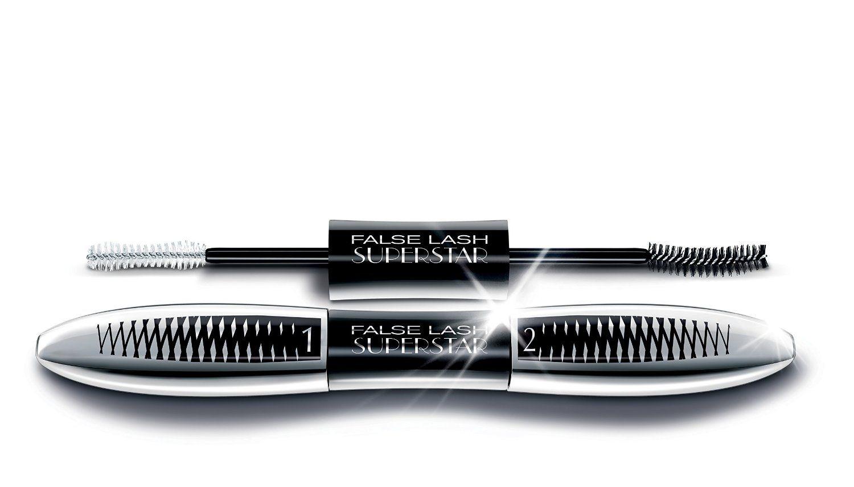 L'Oreal Paris False Lash Superstar Noir/Black Mascara 2 x 6.5ml