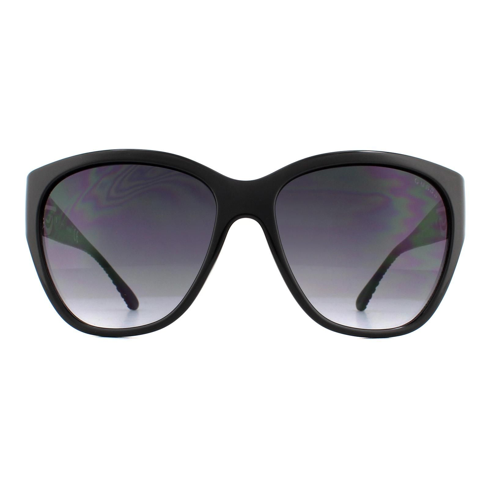Guess Sunglasses GU7348 C38 Black Grey Gradient