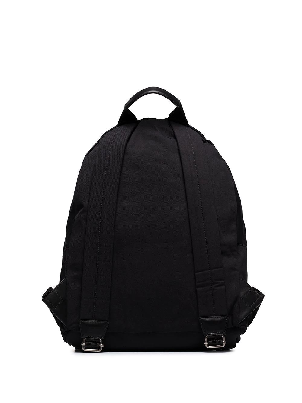 BALMAIN MEN'S TM1S096TNYV0PA BLACK POLYAMIDE BACKPACK