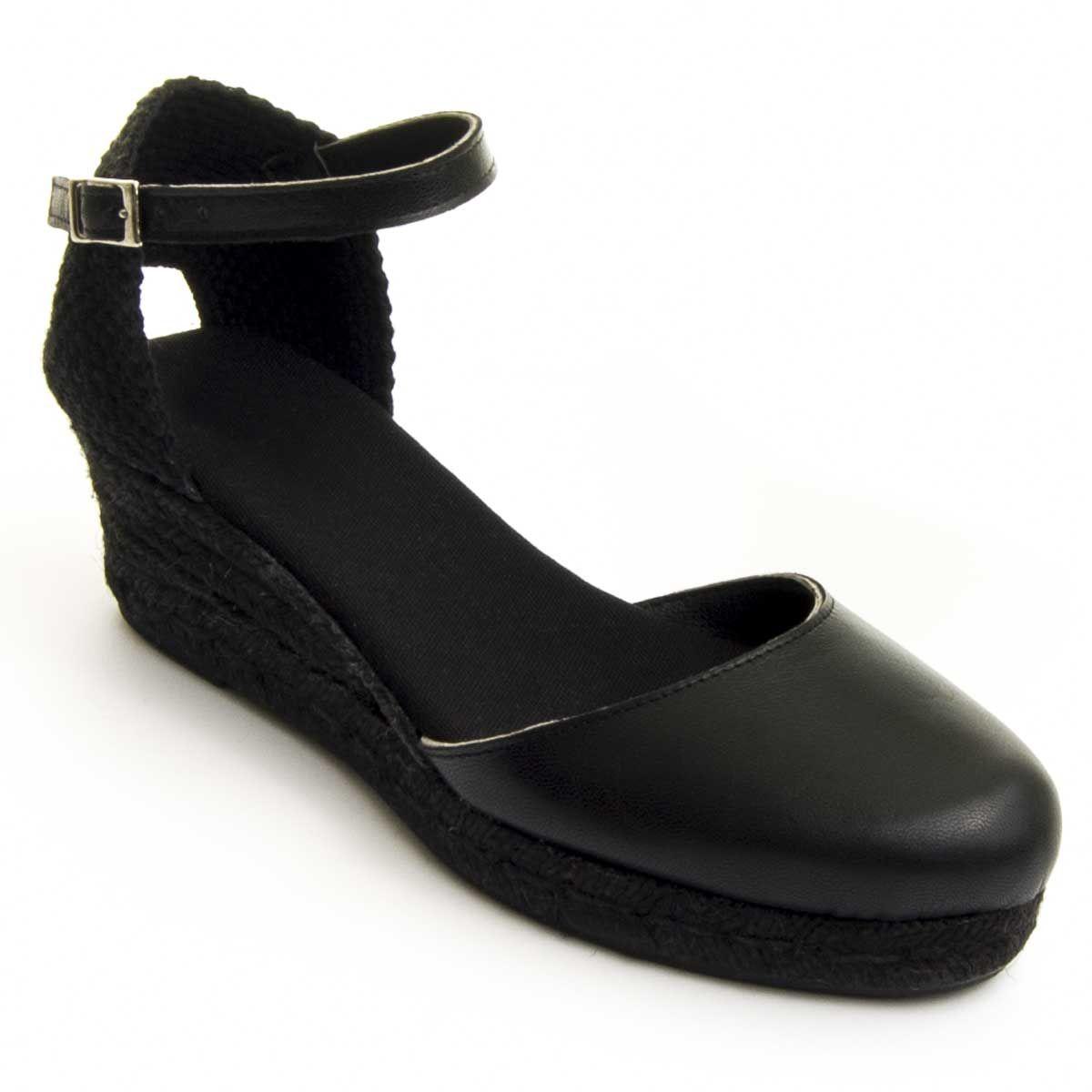Montevita Sparto Wedge in Black