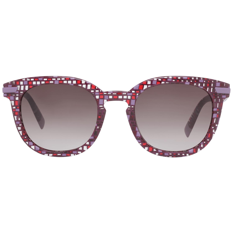 Furla Burgunder Frauen Sonnenbrille