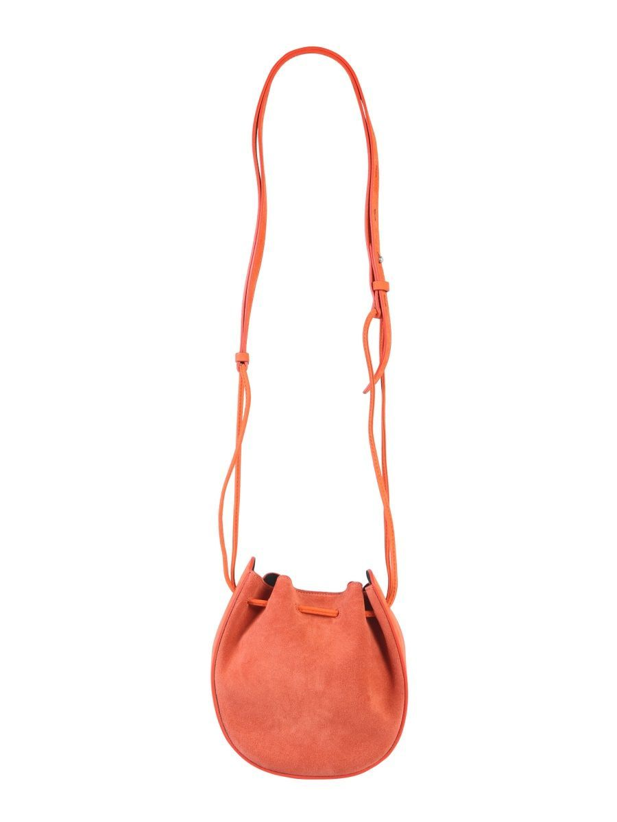 REBECCA MINKOFF WOMEN'S HH18ESUX13220 ORANGE SUEDE SHOULDER BAG