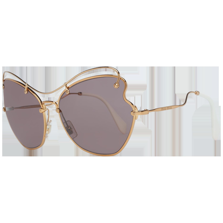 Miu Miu Sunglasses MU56RS 7OE6X1 65 Women Rose Gold