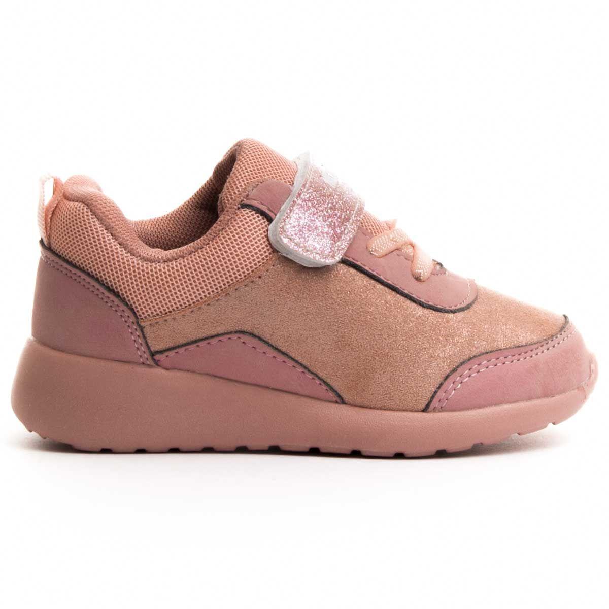 Montevita Velcro Sneaker in Pink