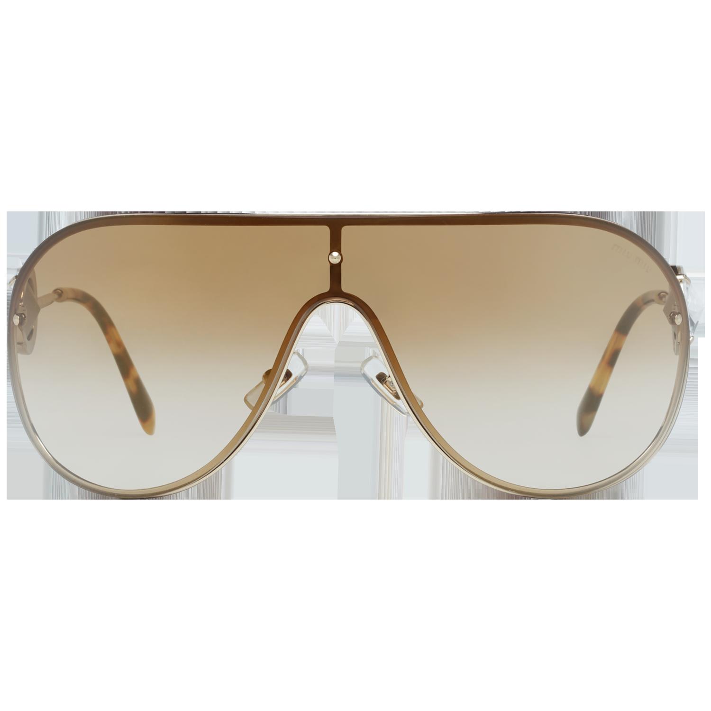 Miu Miu Sunglasses MU67US ZVN2G2 37 Women Gold