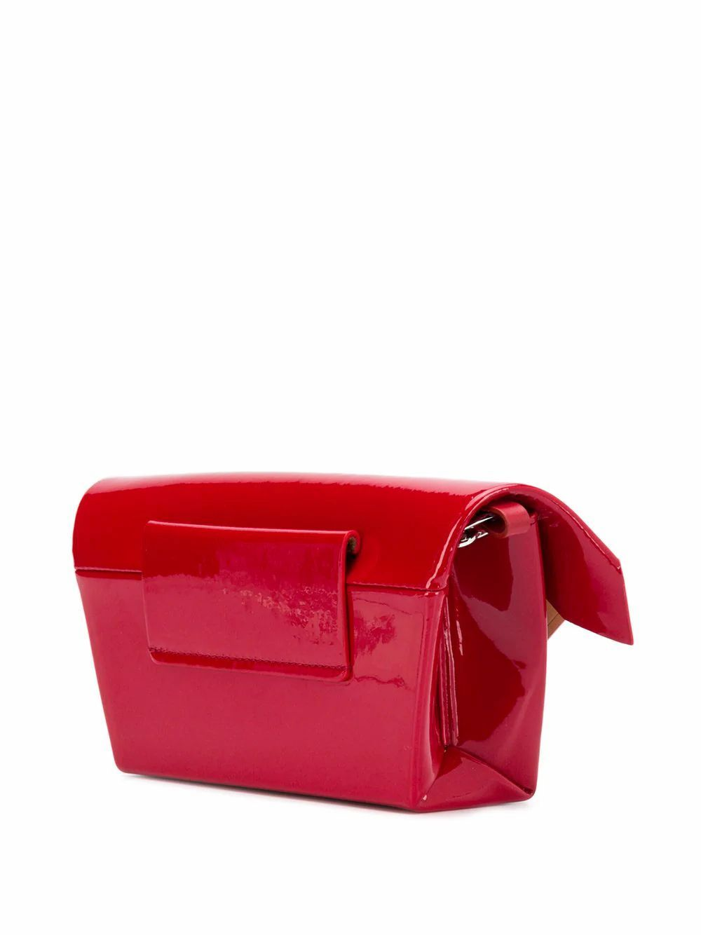 MAISON MARGIELA WOMEN'S S61WF0025PR035T4045 RED LEATHER SHOULDER BAG