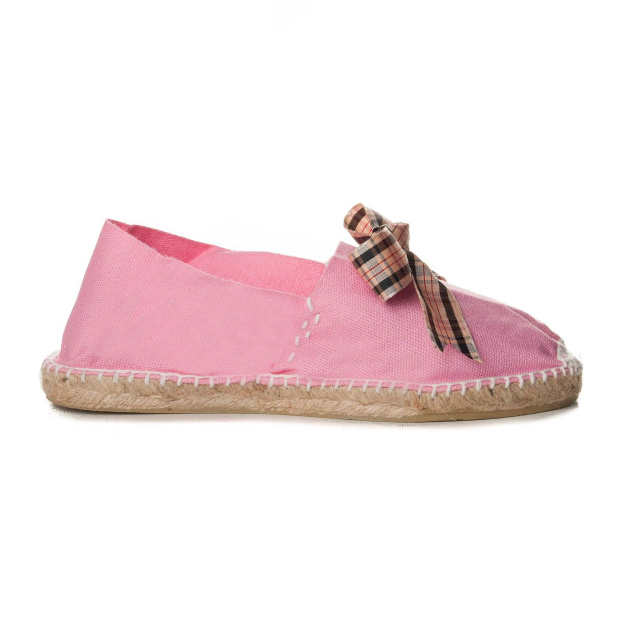 Maria Graor Bow Front Espadrille in Pink