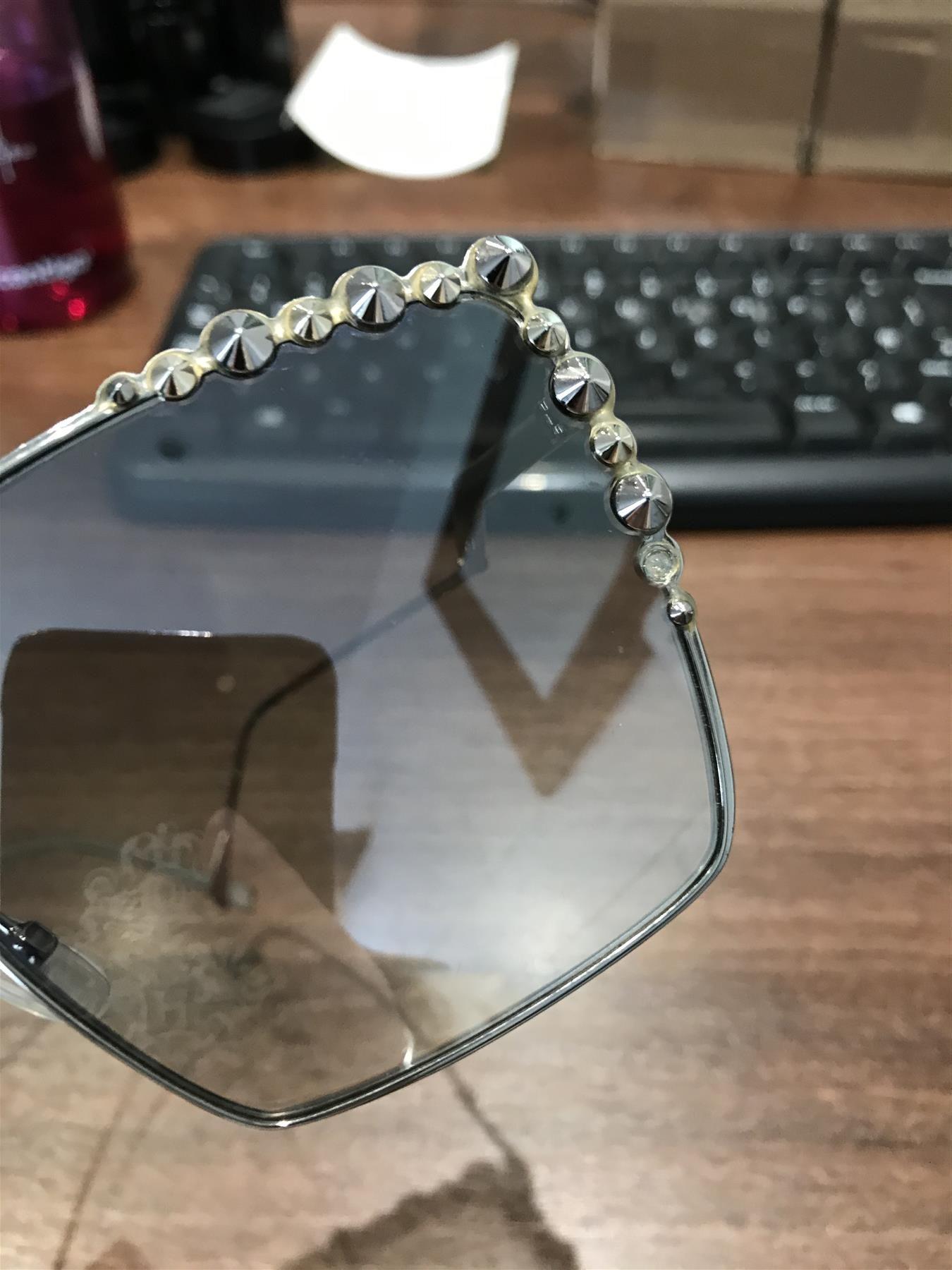 Fendi Sunglasses 0259/S 010 IC Silver Silver Gradient Mirror