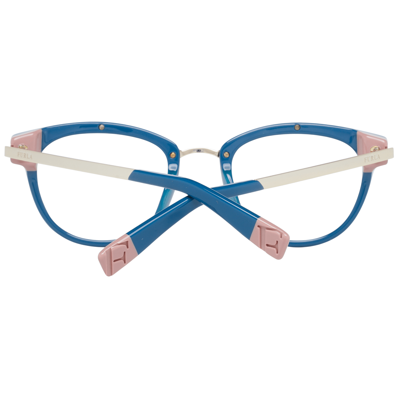 Furla Optical Frame VFU027 06MC 49 Women Blue