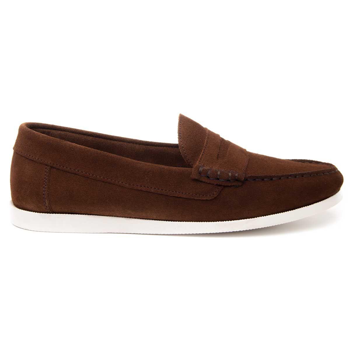 Purapiel Comfortable Moccasin in Brown