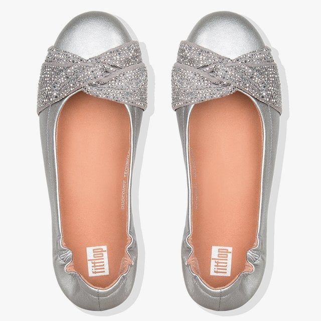 Fitflop Twiss Crystal Leather Pumps