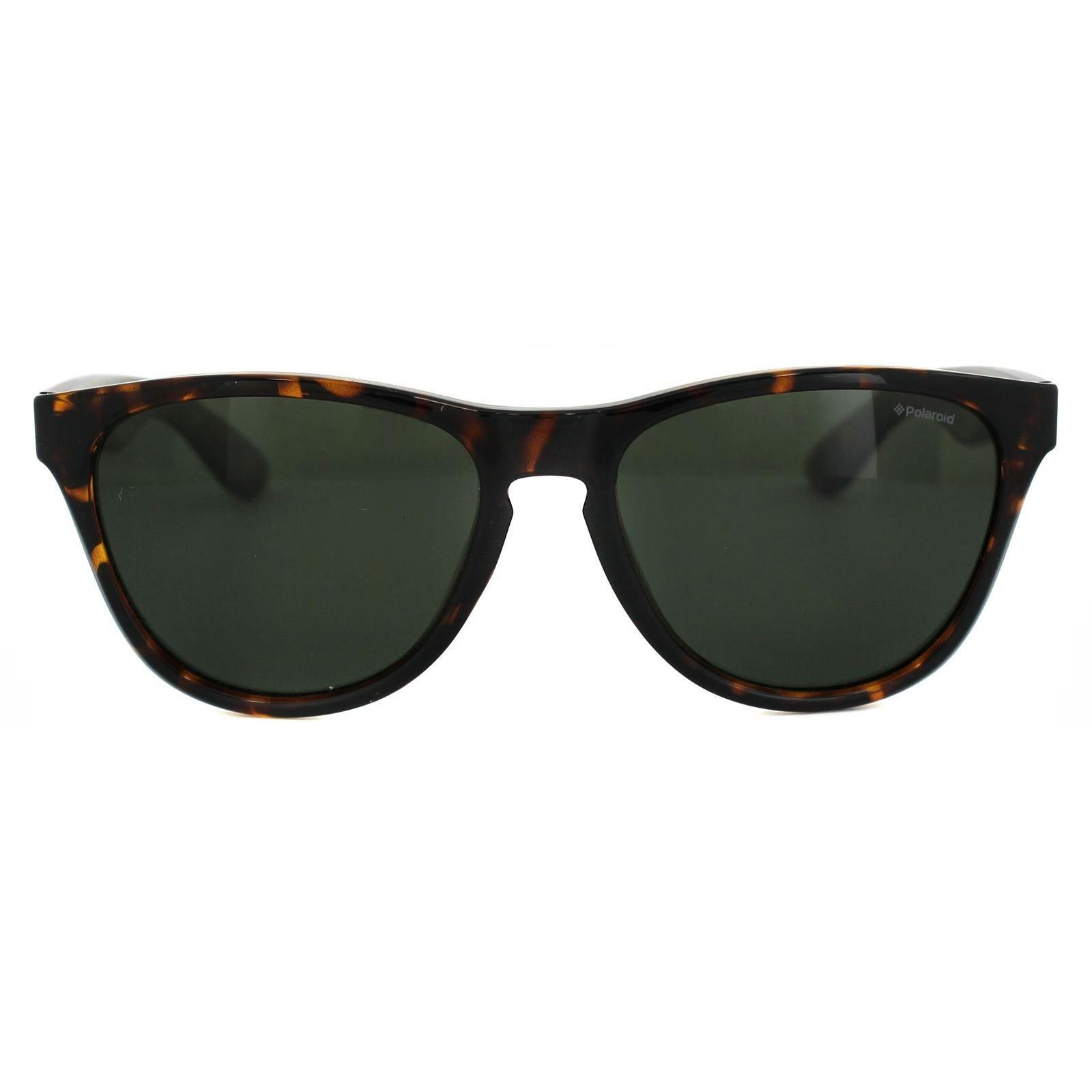 Polaroid Plus Sunglasses PLD 1007/S V08 H8 Havana Green Polarized