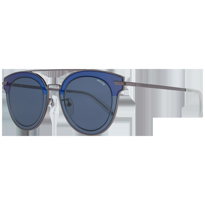 Police Sunglasses SPL543G 568B 50 Men Silver