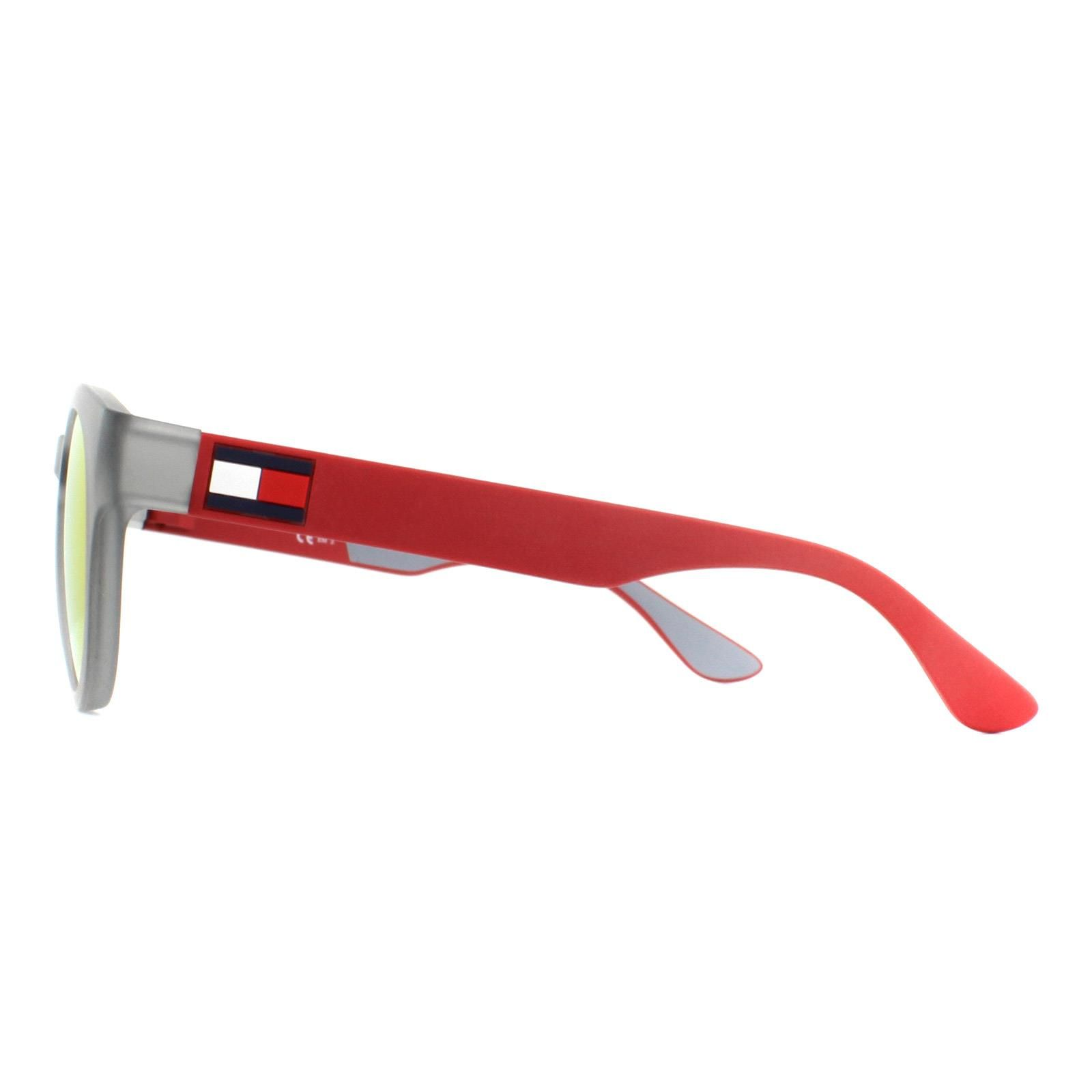 Tommy Hilfiger Sunglasses Th 1555/S Fre Uz Matte Grey Red Mirror