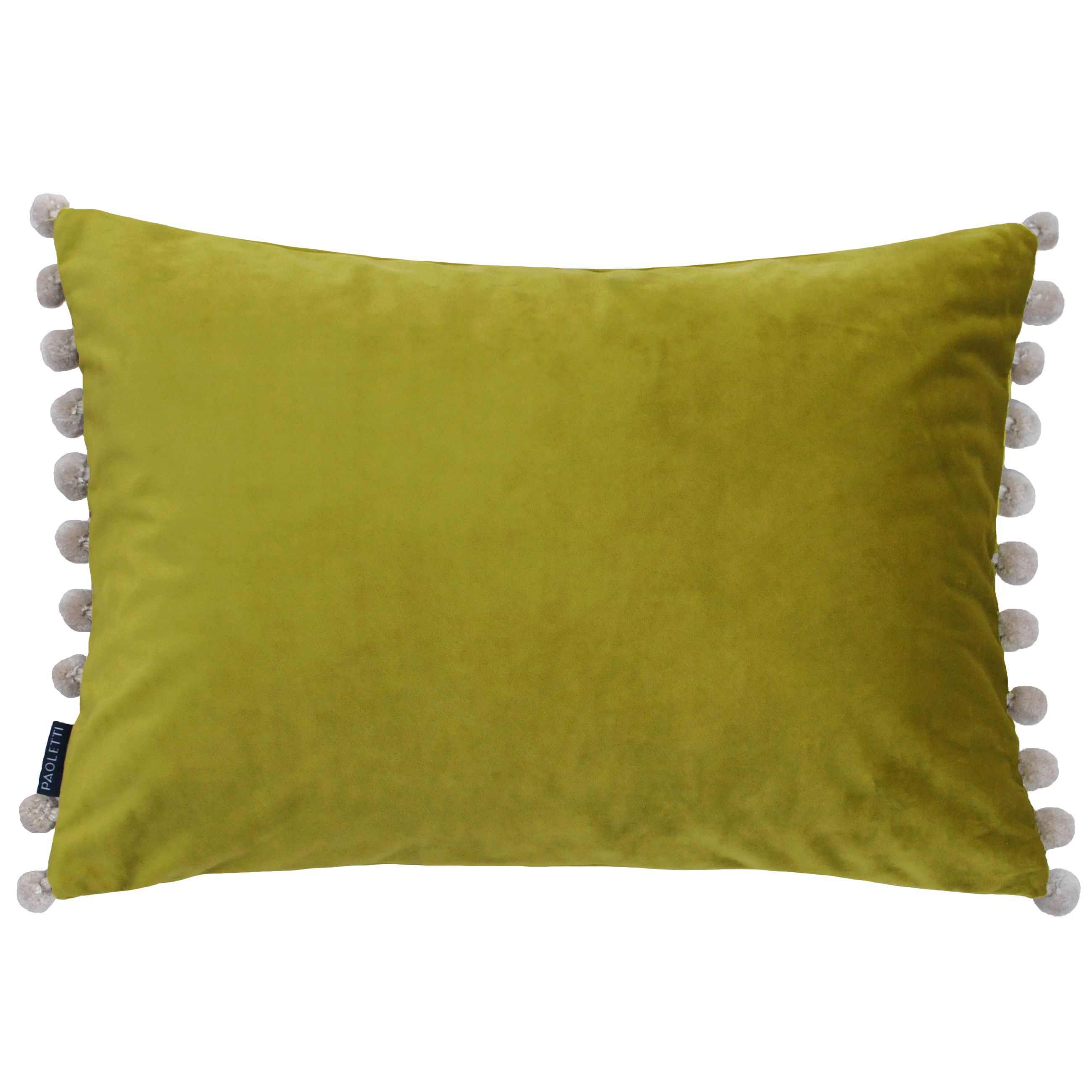 Fiesta Poly Cushion 35X50 Bam/Nat