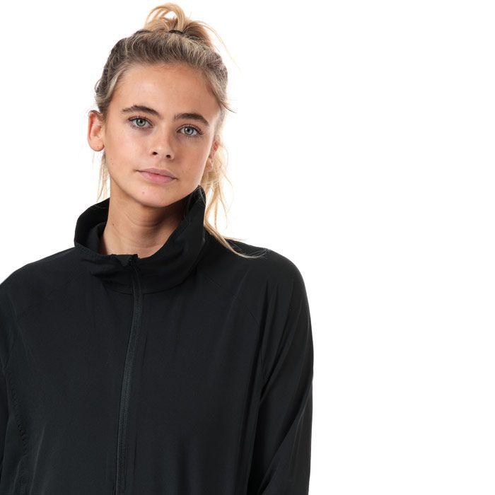 Women's adidas Woven Badge Of Sport Jacket in Black