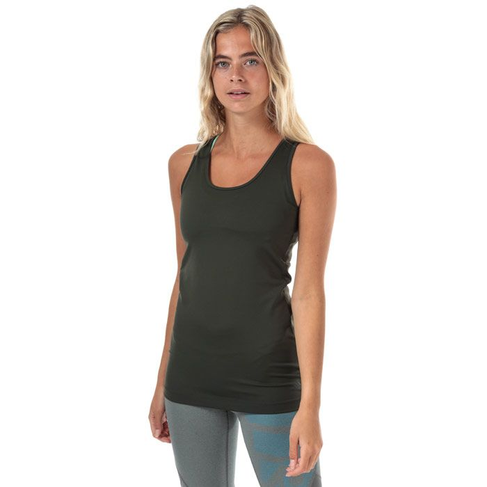 Women's adidas x Universal Standard Long Top in olive