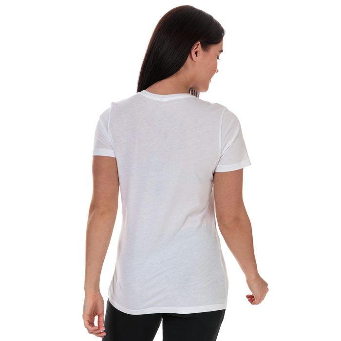 Women's Reebok Training Essentials Graphic T-Shirt in White