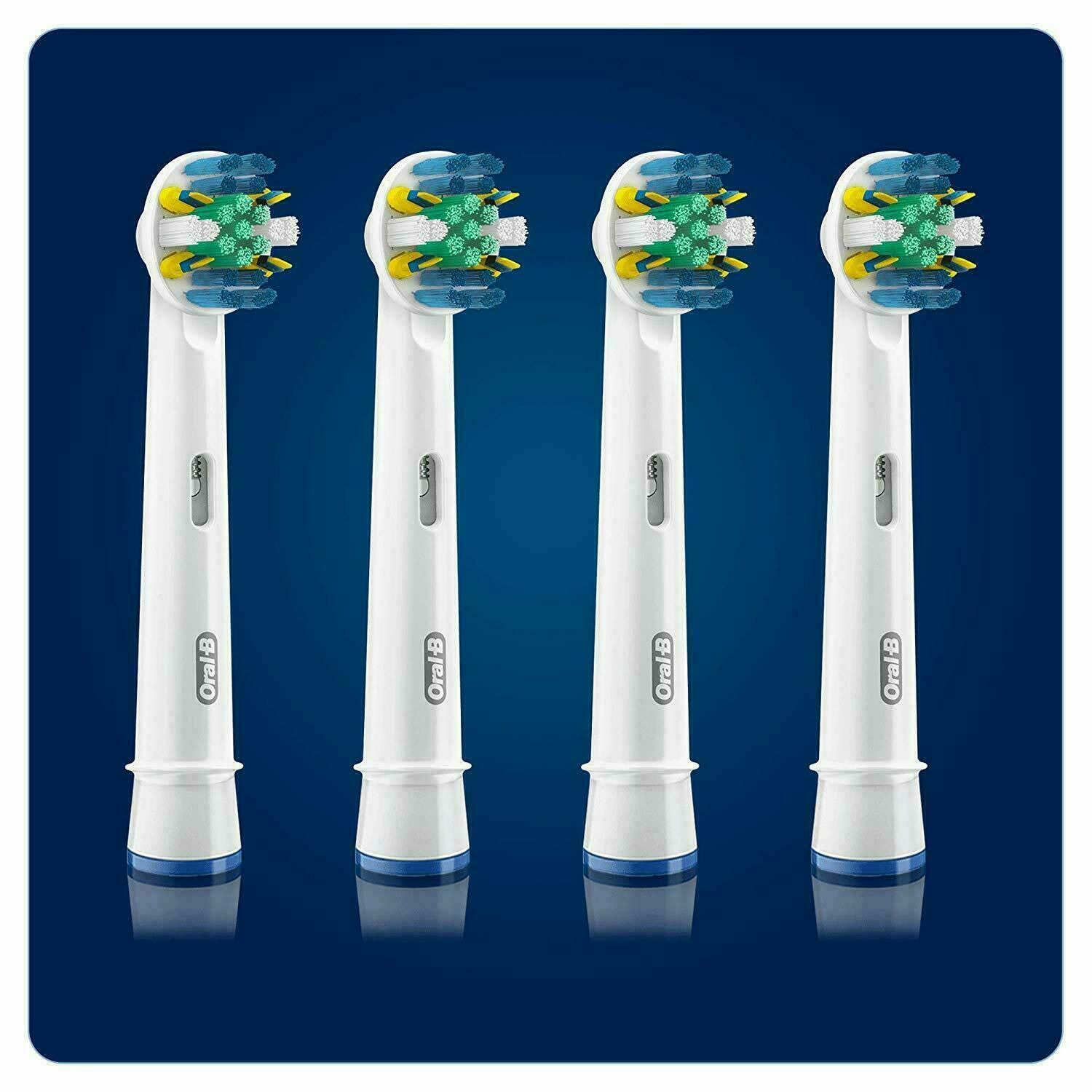 Oral-B Floss Action Replacement Brush Heads - 4 Heads