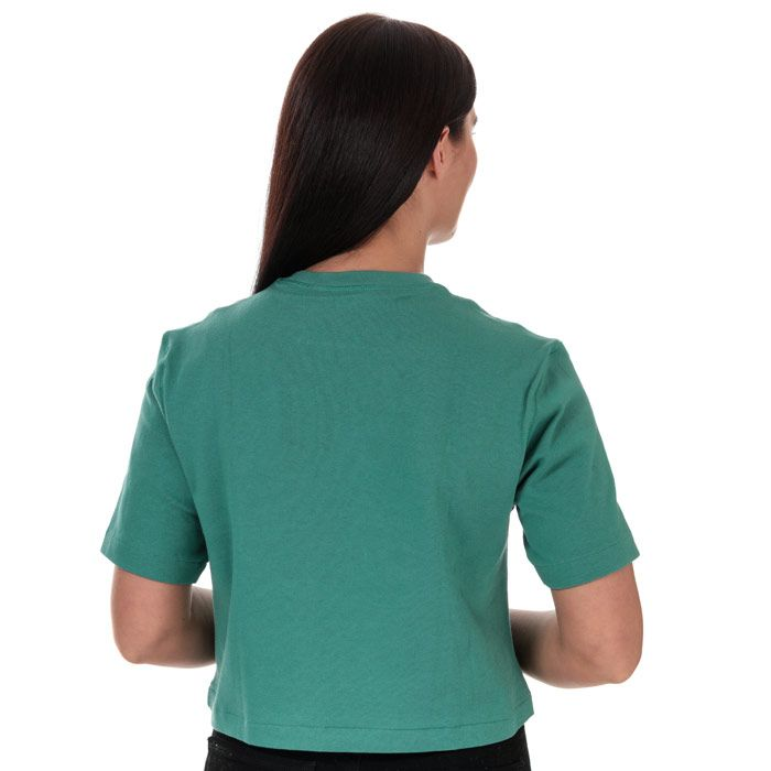 Women's adidas Originals Premium T-Shirt in Green