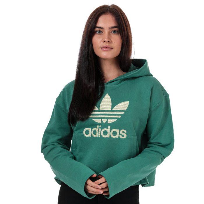 Women's adidas Originals Premium Hoody in Green