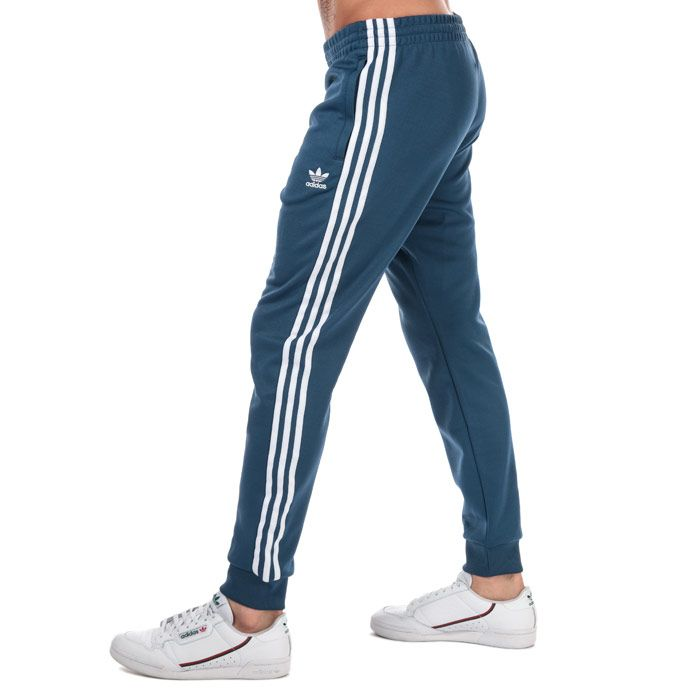 Men's adidas Originals SST Track Pants in Blue