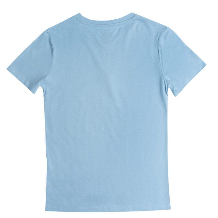 Boys' Franklin And Marshall Infant F&M Logo Crew T-Shirt in Blue