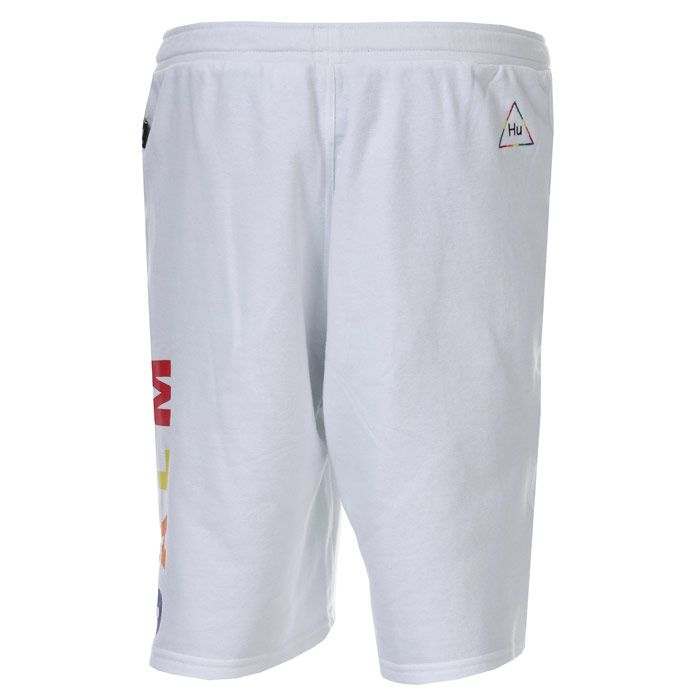 Men's adidas Originals Pharrell Williams HU TBIITD Shorts in White