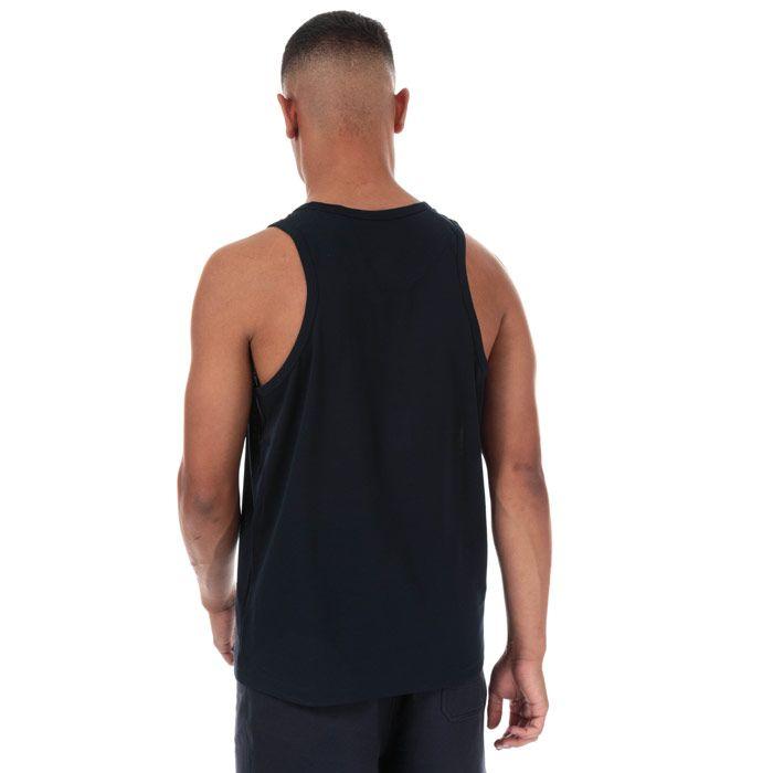 Men's Y-3 Classic Logo Vest in Navy