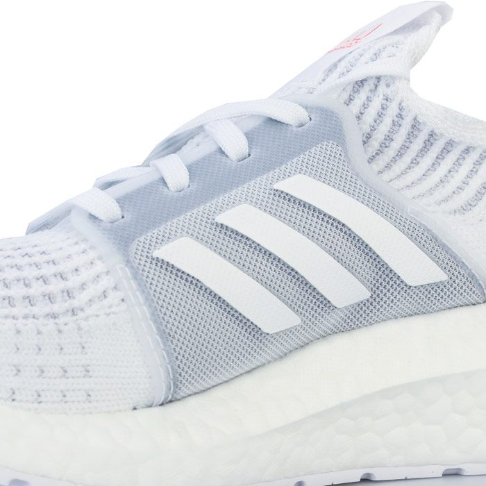 Women's adidas Ultraboost 19 Running Shoes in White