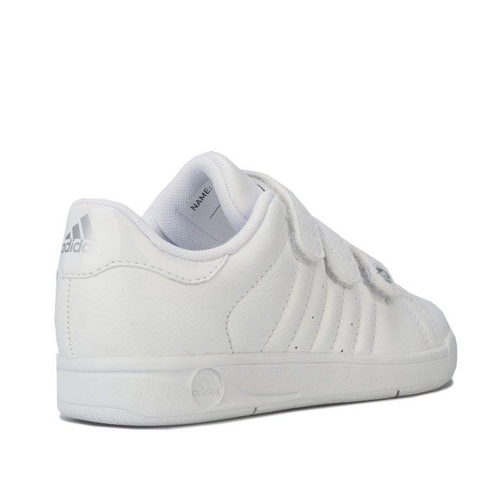 Boy's adidas Children BTS Class Trainers in White