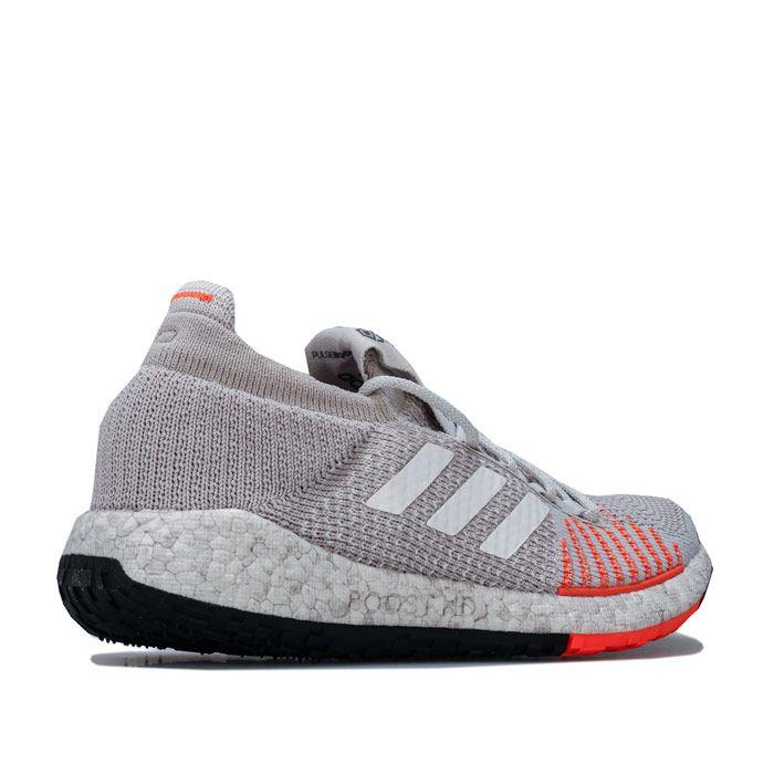 Women's adidas PulseBOOST HD Running Shoes in Light Grey