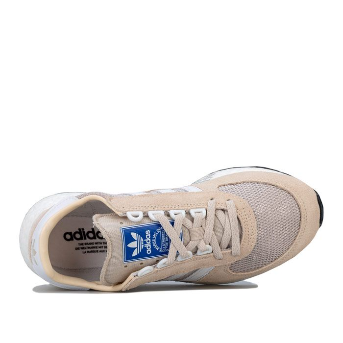 Women's adidas Originals Marathon Tech Trainers in Ecru