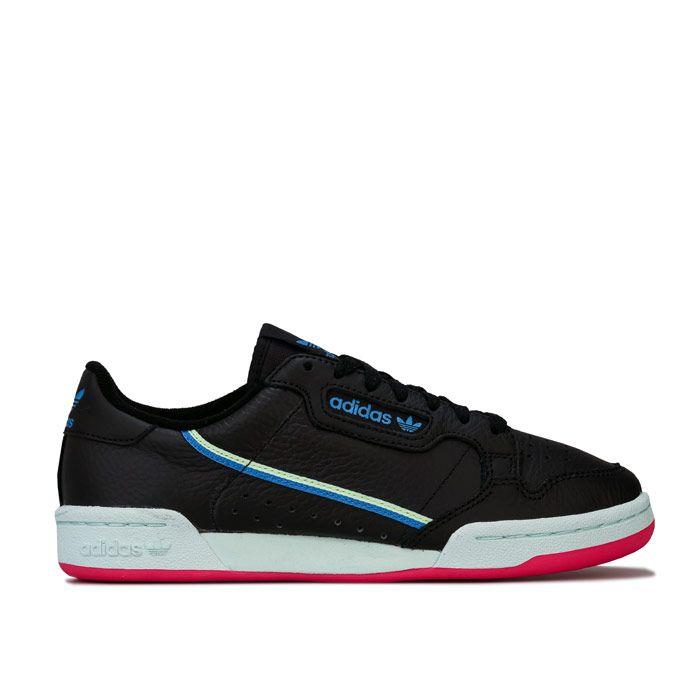 Women's adidas Originals Continental 80 Trainers in Black