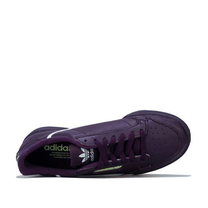 Women's adidas Originals Continental 80 Trainers in Purple