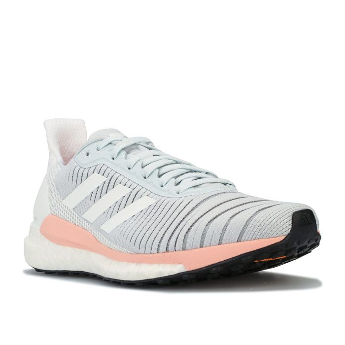 Women's adidas Solar Glide 19 Running Shoes in Grey blue