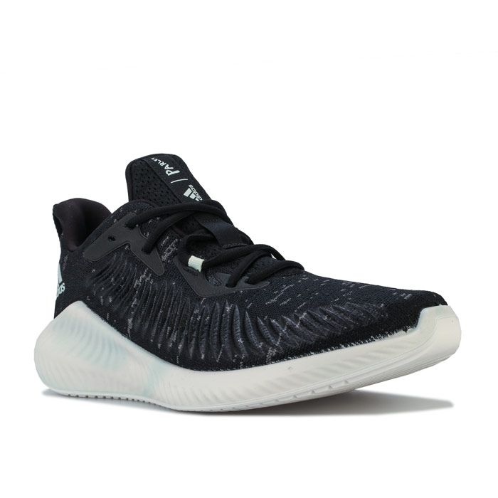 Men's adidas Alphabounce Parley Trainers in Black