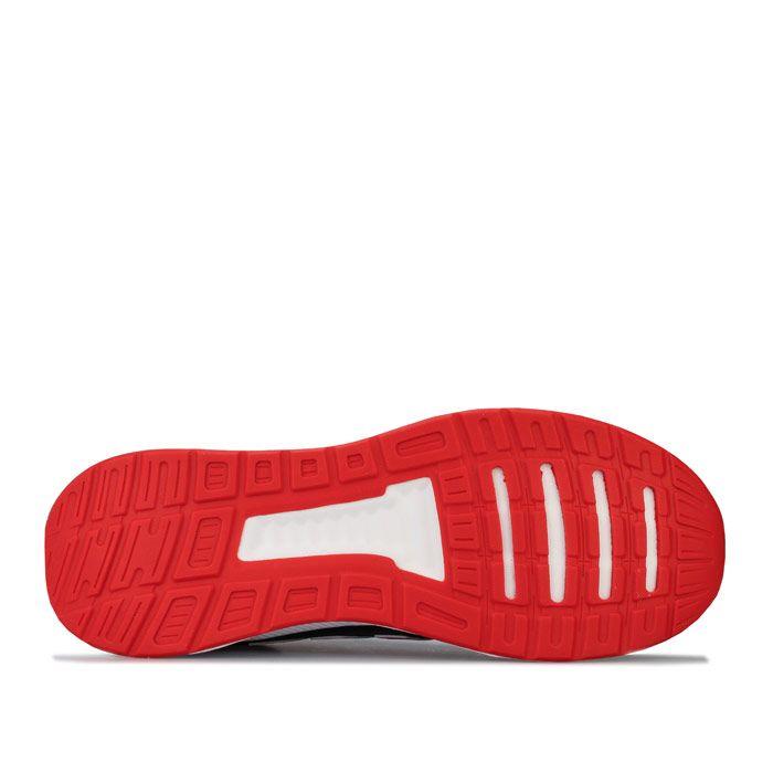 Men's adidas Originals Run Falcon Trainers in Black Red